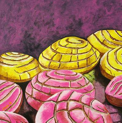 Painting - Pan Dulce I by Manny Chapa