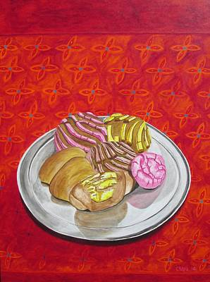 Painting - Pan Dulce II by Manny Chapa