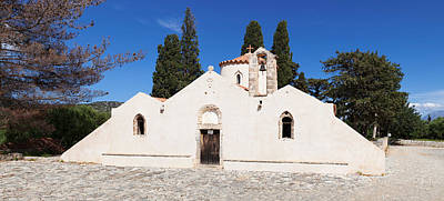 Panagia Kera Church In Kritsa, Lasithi Print by Panoramic Images