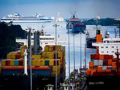 Karen People Photograph - Panama Canal Express by Karen Wiles