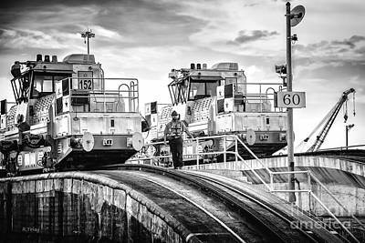 Photograph - Panama Canal Mules by Rene Triay Photography