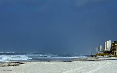 Photograph - Panama City Beach Awaiting Hurricane Isaac by Debra Forand