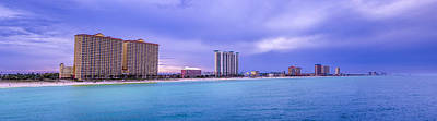 Panama City Beach Art Print by David Morefield