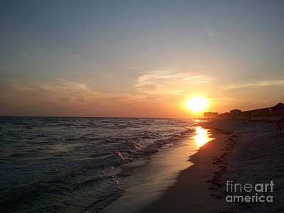 Panama City Beach Sunset Art Print