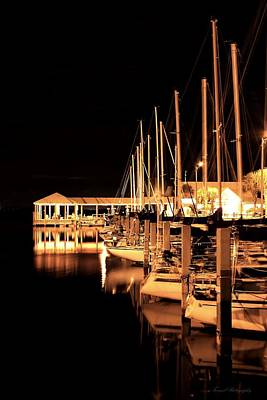 Panama City Marina Art Print