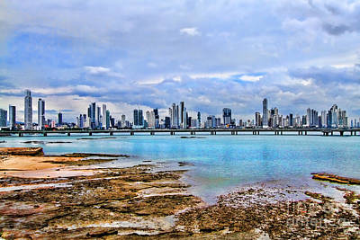 Photograph - Panama City Panama By Diana Sainz by Diana Raquel Sainz