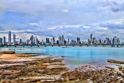 Photograph - Panama City Panama By Diana Sainz by Diana Raquel Sainz