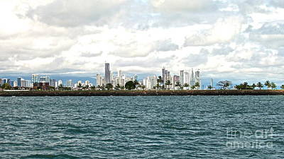 Photograph - Panama City Panama by Carol  Bradley