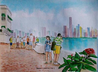 Panama City Panama Art Print by Frank Hunter