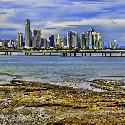 Print featuring the photograph Panama City by Rob Tullis