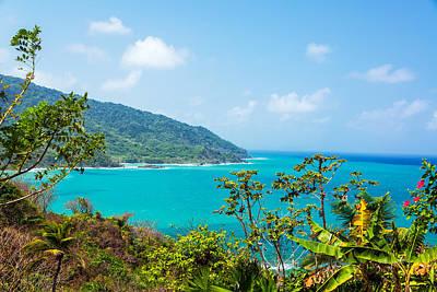 Panama Coast View Art Print by Jess Kraft