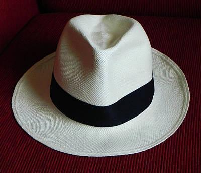 Panama Hat Art Print