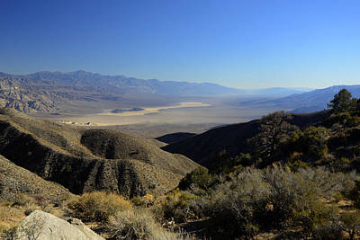 Panamint Valley Photograph - Panamint Valley November 21 2014 by Brian Lockett
