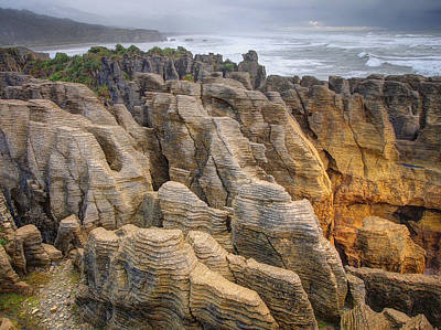 Photograph - Pancake Rock by Kim Andelkovic
