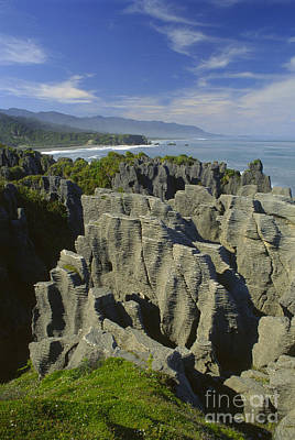 Photograph - Pancake Rocks Punakaiki Nz by Craig Lovell