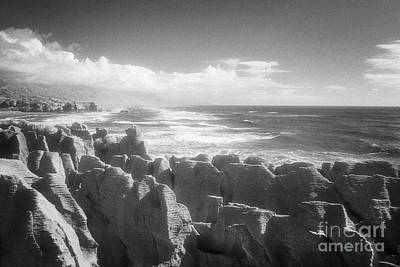 Photograph - Pancake Rocks Punakaiki West Coast Nz by Colin and Linda McKie