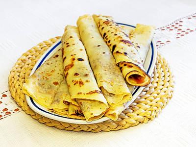 Margarine Photograph - Pancakes by Sinisa Botas