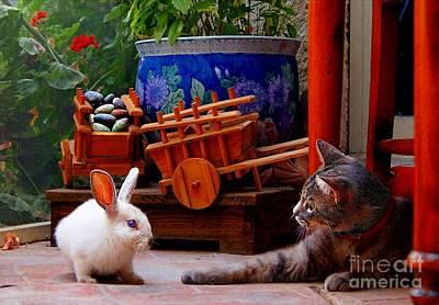 Jessica Rabbit Photograph - Pancho Meets Jessica Rabbit by John  Kolenberg