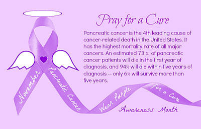 Photograph - Pancreatic Cancer Awareness by Jean Wright