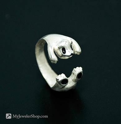 Adjustable Ring Jewelry - Panda Ring by Nicholas Damario