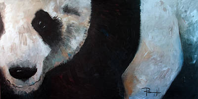 Painting - Panda by Sean Parnell