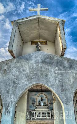 Photograph - Pandanon Island Chapel by Adrian Evans