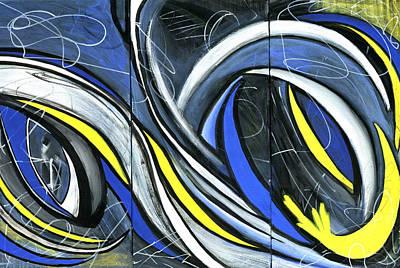 Painting - Pandemonium  by Karyn Robinson