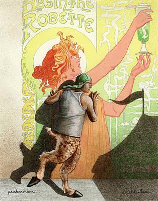 Pandemonium... Art Print by Will Bullas