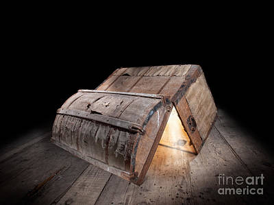 Treasure Box Photograph - Pandora Box by Sinisa Botas