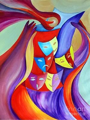 Painting - Pandora's Box by Irene Pomirchy