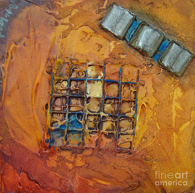 Mixed Media - Panel Five by Phyllis Howard
