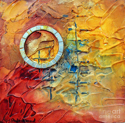 Mixed Media - Panel Nine by Phyllis Howard