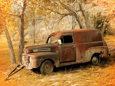 Photograph - Panel Truck by Leland D Howard