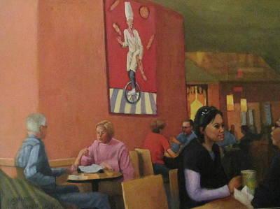 Panera Bread Painting - Panera Bread by Janet McGrath