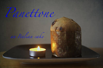 Photograph - Panettone by Christopher Rees