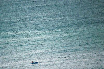 Photograph - Panga And The Sea by Matt Nordstrom