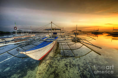 Photograph - Panglao Port Sunset 2.0 by Yhun Suarez