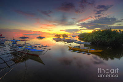 Photograph - Panglao Port Sunset 6.0 by Yhun Suarez