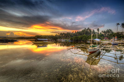 Photograph - Panglao Port Sunset by Yhun Suarez