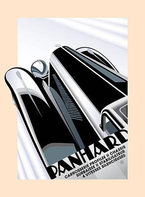 Digital Art - Panhard by Gary Grayson