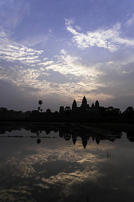 Photograph - Panorama Cambodia Siem Reap 01 by Sentio Photography