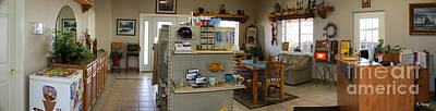 Photograph - Panorama Cedar Cove Rv Park Front Desk by Roena King