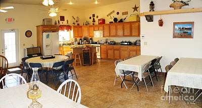Photograph - Panorama Cedar Cove Rv Park Kitchen by Roena King