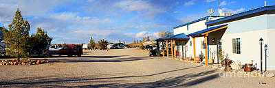 Photograph - Panorama Cedar Cove Rv Park Street 3 by Roena King