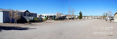 Photograph - Panorama Cedar Cove Rv Park Street 4 by Roena King