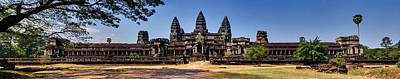Photograph - Panorama - Hi-res - National Heritage In Angkor Wat Cambodia by Afrison Ma
