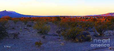 Photograph - Panorama Morning View Of Mountains 3 by Roena King
