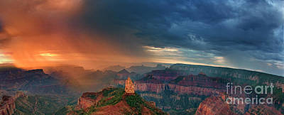 Photograph - Panorama North Rim Grand Canyon Arizona by Dave Welling