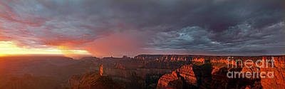 Photograph - Panorama North Rim Grand Canyon National Park Arizona by Dave Welling