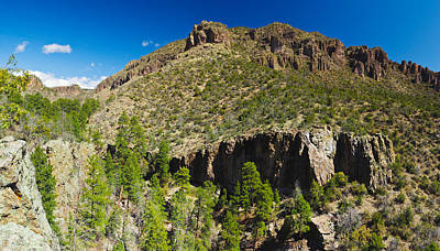 Panorama Of Dome Wilderness, San Miguel Art Print by Panoramic Images